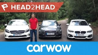 Download Audi A3 vs BMW 1 Series vs Mercedes A-Class 2017 | Head2Head Video