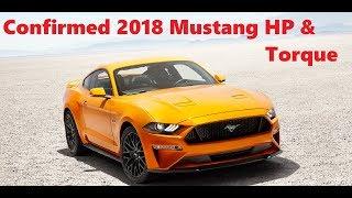 Download CONFIRMED 2018 Mustang GT and Ecoboost Horsepower & Torque   0-60 Under 4 Seconds Video