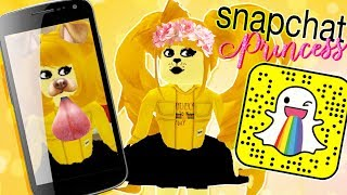 Download If SNAPCHAT was a PRINCESS! Royale High w/ Leah Ashe Video