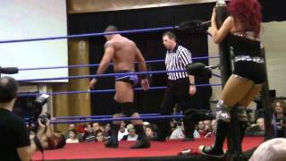 Download GCW-Shawn Spears and Angelina Love vs. Brent B and Seleziya Sparx2/2 Video