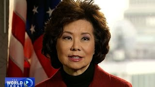 Download Elaine Chao on her decision to return to public service Video
