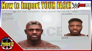 Download WWE 2K19: How To Put YOUR Face In the Game! (Face Import Tutorial) Video