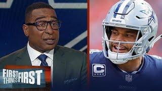 Download Cowboys should prioritize Dak Prescott's payday - Cris Carter | NFL | FIRST THINGS FIRST Video