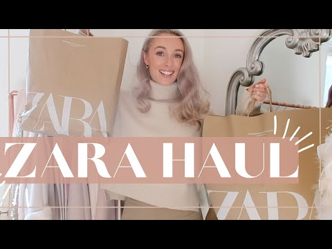 2020 ZARA HAUL + TRY ON // Mid Season Wardrobe Refresh // Fashion Mumblr