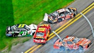 Download NASCAR Qualifying Crashes Video