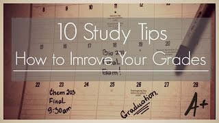 Download 10 Study Tips II How to improve your grades. Video