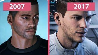 Download 4K UHD   Mass Effect 1 2007 vs. Andromeda 2017 Graphics Comparison Video