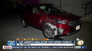 Download Driver who led chase found hiding under car, arrested Video