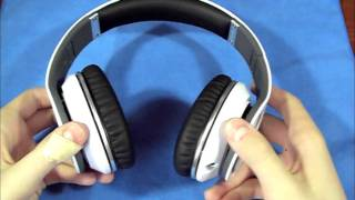 Download Beats By Dr Dre Studio White Headphones FULL REVIEW Video