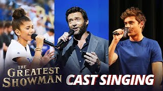 Download The Greatest Showman Cast REAL Singing Voice Video