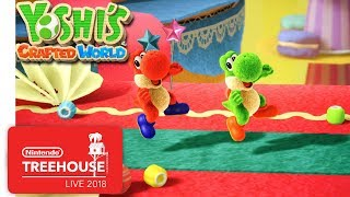 Download Yoshi's Crafted World - Gameplay - Nintendo Treehouse: Live Video