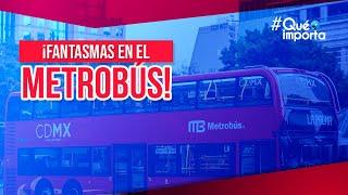 Download Escalofriante aparición de un fantasma en el Metrobús | Qué Importa Video