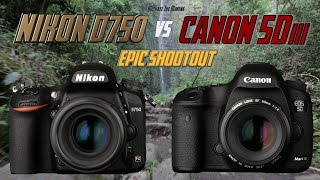 Download Nikon D750 vs Canon 5Diii Epic Shootout Review | Which camera to buy? | Tutorial Training Video