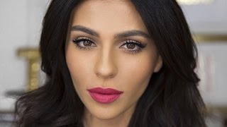 Download Everyday Cat Eye + Bright Lips | Lipstick Tutorial | Teni Panosian Video