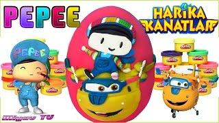 Download Pepee ve Harika Kanatlar Donnie Sürpriz Yumurtası Yeni Bölüm Oyun Hamuru Video