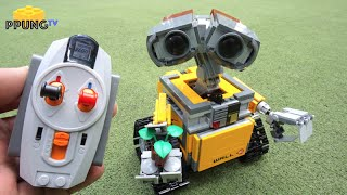 Download LEGO Wall-E 21303 - RC Motorized Wall-E review by 뿡대디 Video