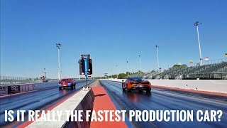Download The Drag Race That Shook The Mopar World : Mclaren 720s vs Dodge Demon Video