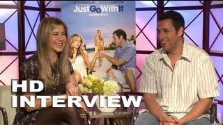 Download Just Go With It: Jennifer Aniston & Adam Sandler Exclusive Interview (02/11/2011) Video