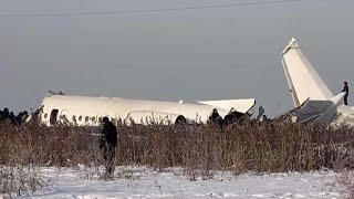 Download Kazakhstan plane crash kills 12, dozens survive unharmed Video