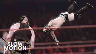 Download Brutal slow-motion video of Raw's first-ever Dumpster Match: Exclusive, April 25, 2017 Video
