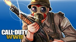 Download CALL OF DUTY WW2 BETA - BLAZING SHOTGUN! (Domination Gameplay) Video