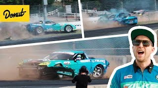 Download The Corvette Gets Wrecked! | Frenemies EP3 - Formula Drift Atlanta Video
