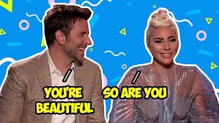 Download Bradley Cooper Can't Keep His Eyes Off Lady Gaga Video