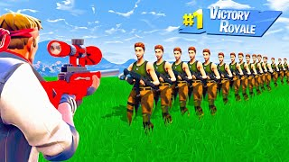 Download HOW MANY PLAYERS Can 1 BULLET Kill in Fortnite Battle Royale Video