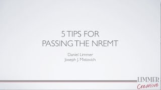 Download 5 Tips for Passing the NREMT Video