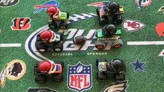 Download MONSTER TRUCK FOOTBALL GAME ″CHIEFS VS JAGS″ Video
