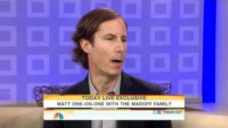 Download Matt Lauer Interviews Ruth and Andrew Madoff Video