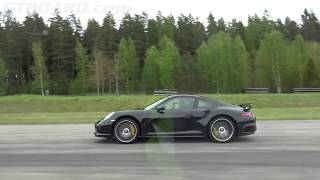 Download [4k] EVERYTHING vs 580 HP Porsche 991 Turbo S FACELIFT Mk II Video