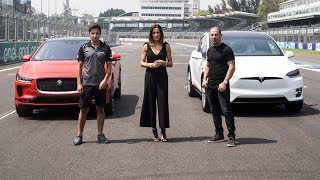 Download 2019 Jaguar i-Pace Vs Tesla Model X - Challenge Test Video