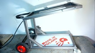 Download Awesome welding cart Video