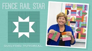 Download Make a Fence Rail Star Quilt with Jenny Doan of Missouri Star! (Video Tutorial) Video