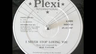 Download Rod Taylor - I Never Stop Loving You + Dub - 12″ Plexi Int 1987 - LOVERS DIGITAL 80'S DANCEHALL Video