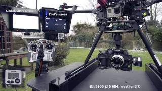 Download S900 Zenmuse z15 GH4 Gimbal HDMI problem Video