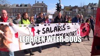 Download Weer protest leraren basisonderwijs Video