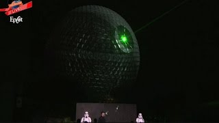 Download Watch the Epcot Spaceship Earth Transform into the Deathstar! Video