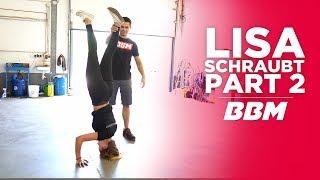 Download Lisa kann nicht nur einen Kopfstand | Audi A3 Tieferlegung mit ST Suspension Fahrwerk Part 2 by BBM Video