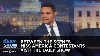 Download Miss America Contestants Visit The Daily Show - Between the Scenes: The Daily Show Video