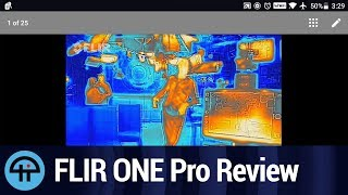 Download FLIR ONE Pro Thermal Camera Review Video