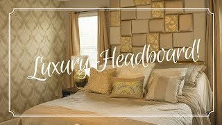 Download DIY Gold Headboard Video