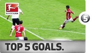 Download Thiago, Aubameyang, Fabian and More - Top 5 Goals on Matchday 30 Video