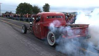 Download NON STOP Back Road BURNOUTS - Spooky Moon Car Show Video
