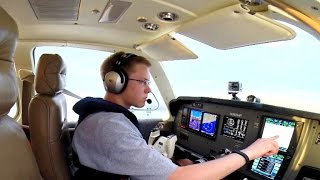 Download Teen pilot breaks record for flying around the globe Video