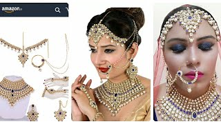 Download amazon jewellery|Bridal jewellery online|bridal jewellery at Amazon|amazon online shopping review Video