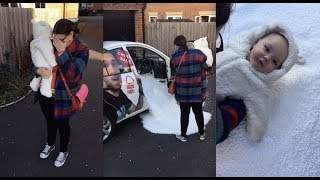 Download Surprising Mum with a white Christmas 🎄🌨 Video