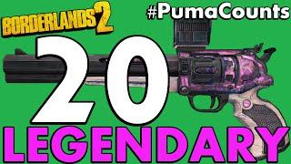 Download Top 20 Best Legendary Guns and Weapons in Borderlands 2 #PumaCounts Video