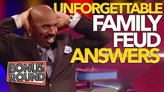 Download UNFORGETTABLE FAMILY FEUD Answers & Steve Harvey Funny Moments On Family Feud USA! Video